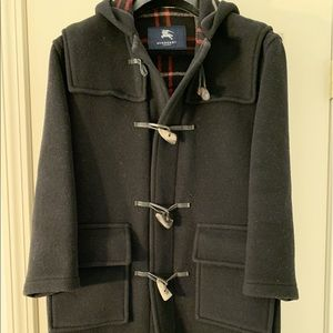 Burberry Wool Toggle Jacket Coat size Small